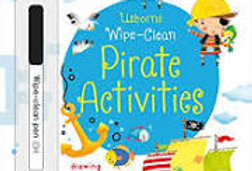 Pirate Activities wipe clean