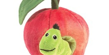 Worm in an Apple puppet