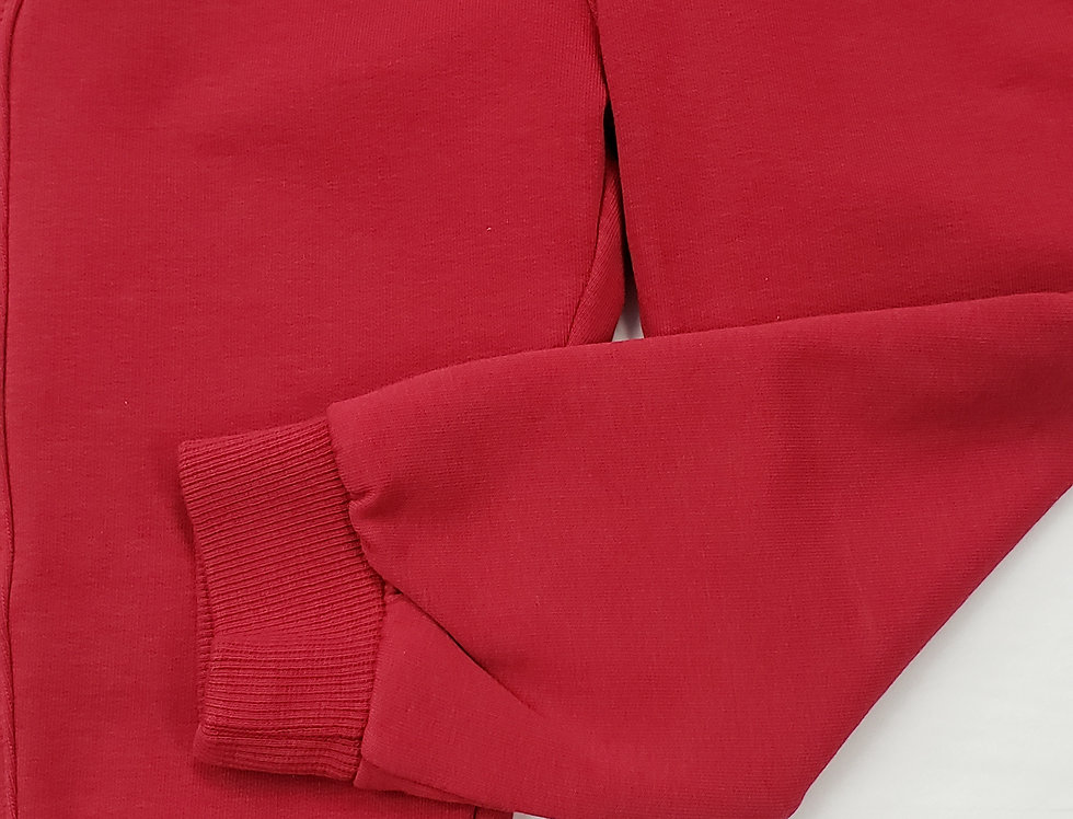 Plush 5 pocket Tie Front Jogger