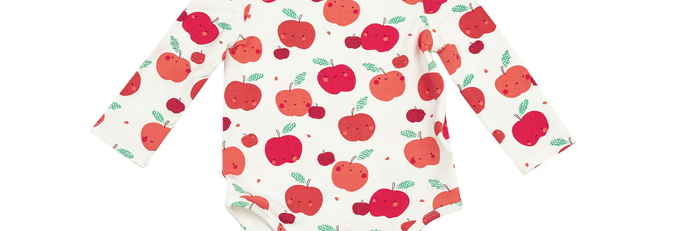 Apple Orchard Lap Shoulder Onesie