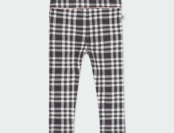 Check Check Knit Trousers 2 pockets