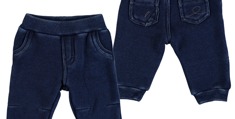 Knitted distresses softy jogger