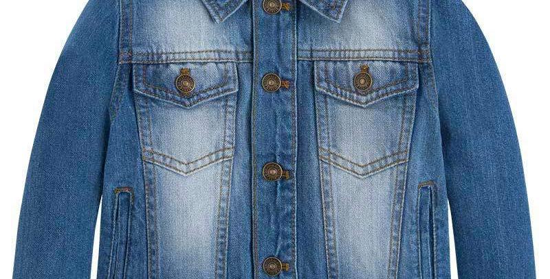 Stonewash 4 Pocket Denim Jacket
