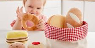 Basket of Bread for Toddlers