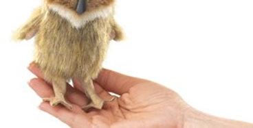 Horned Owl finger puppet