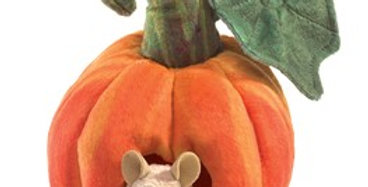 Mouse in a Pumpkin