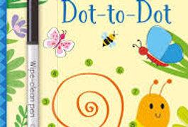 Dot To Dot Maze wipe clean