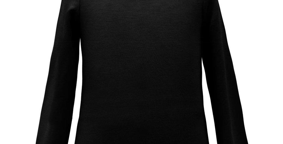 Long sleeve Lycra Scoop Neck