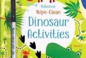 Dinosaur Activities wipe clean