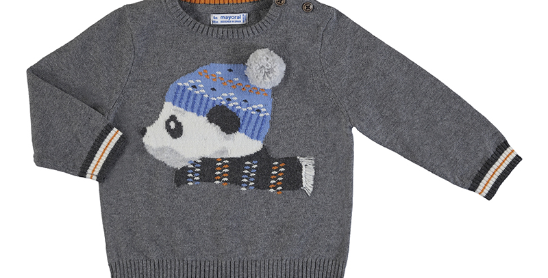 Panda Pullover Sweater