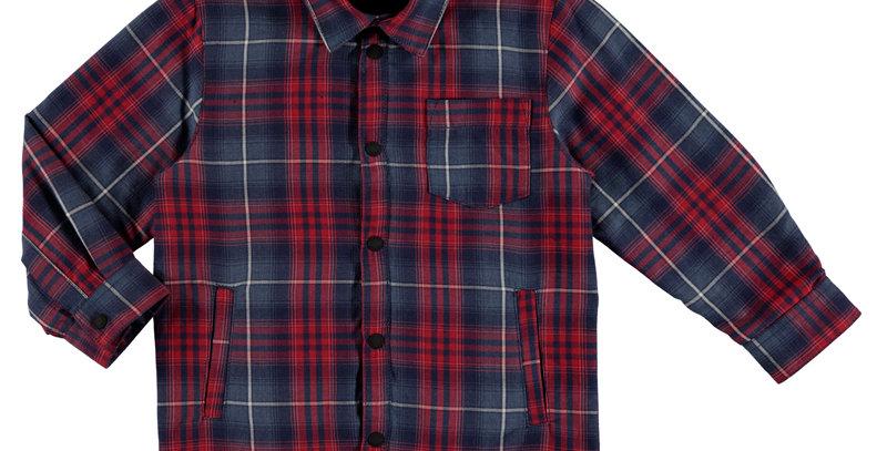 Plaid 1 Pocket Shirt