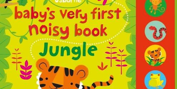 Baby's First Jungle noisy book