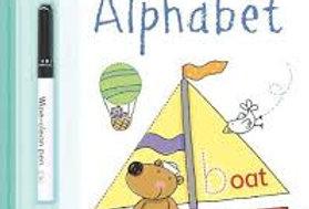 Alphabet wipe clean