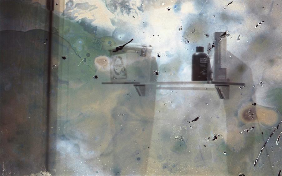 Chemicals on a Shelf (2017), c-41 Film.
