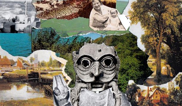 Landscape, Collage. (2017)