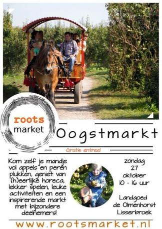 27 oktober: Roots market bij Olmenhorst in Lisserbroek