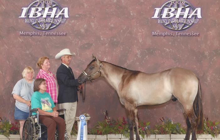 Beezer at 2008 IBHA World Show