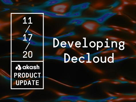 Akash Product Update