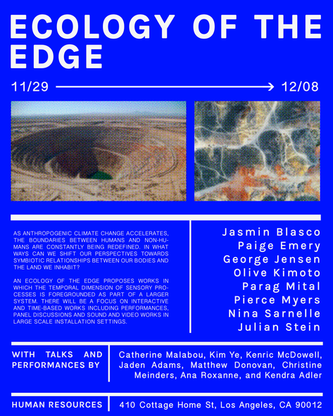 Ecology of the Edge Art Exhibition - Poster