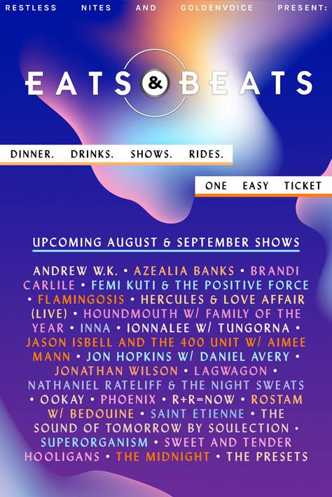 Eats & Beats Poster