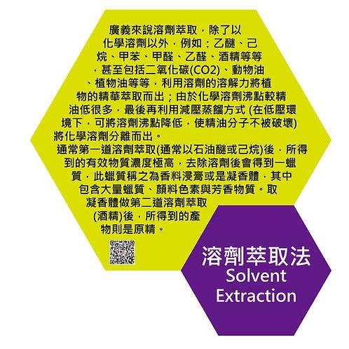 萃取技術種類-溶劑萃取法(Extraction technology-Solvent Extraction)