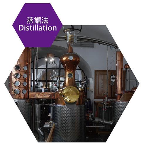 萃取技術種類-蒸餾法(Extraction technology-Distillation)