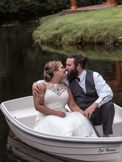 Sweet moment afloat at Cedar Springs
