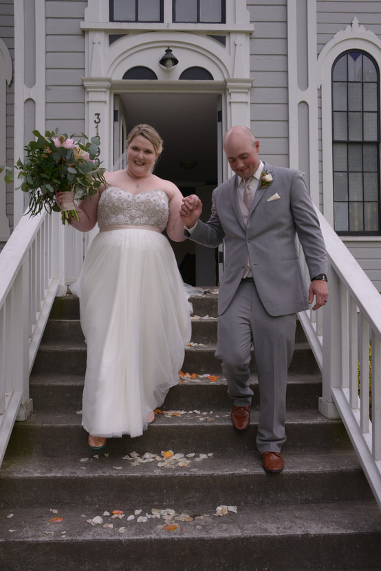 A Beautiful Wedding Day in Port Gamble
