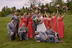 Bridal Party in Port Gamble