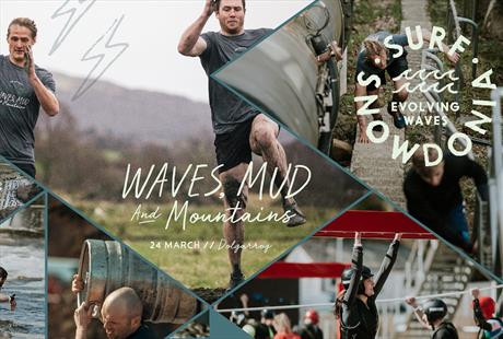 WAVES, MUD AND MOUNTAINS