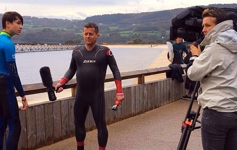 Surfing with BBC Sport