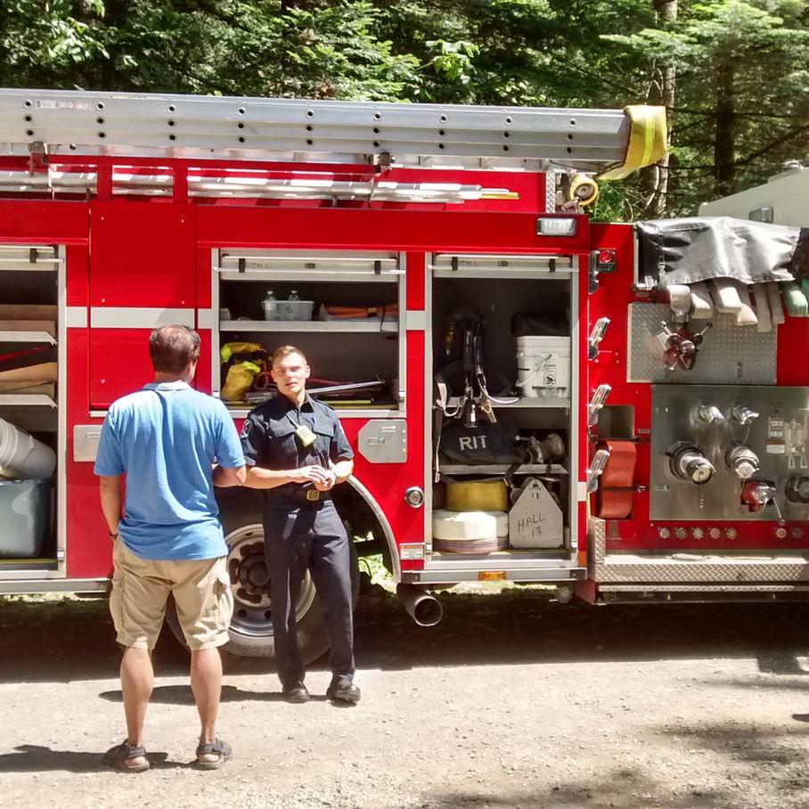 Open house 2019 fire truck 2