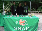 SNAP team booth at Sunnyside Acres Heritage Society open house 2017