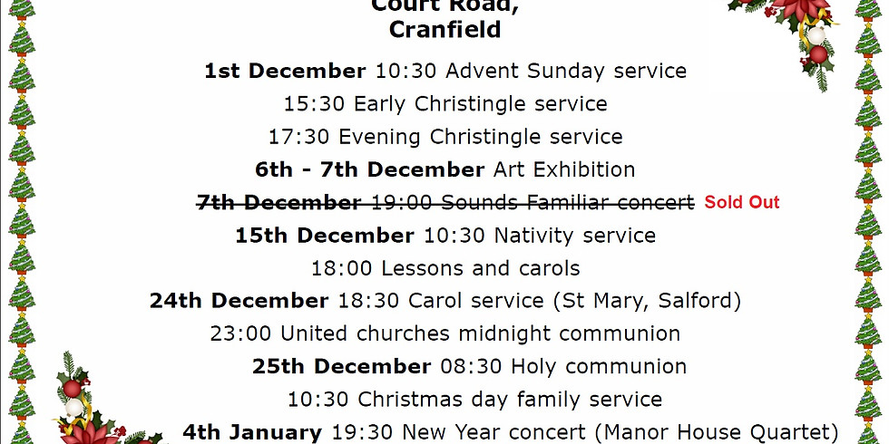 Christmas Services & Events