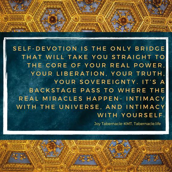 Self-Devotion.