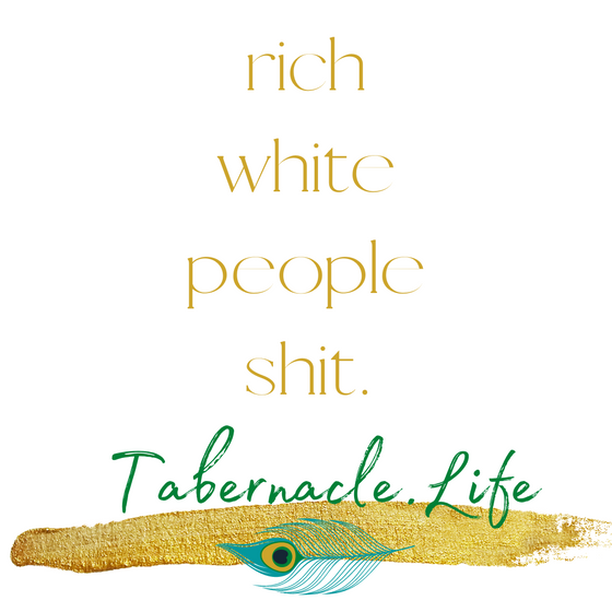 Rich White People Shit.