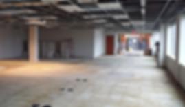 Commercial Build Out, Terre Haute, Comme