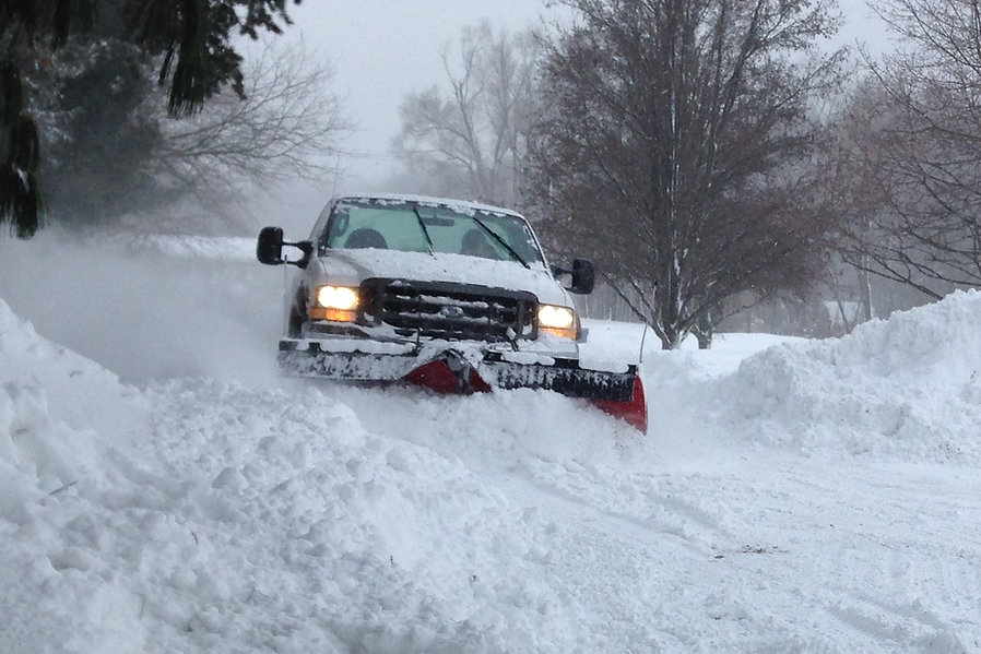 snow removal terre haute, snow plowing t