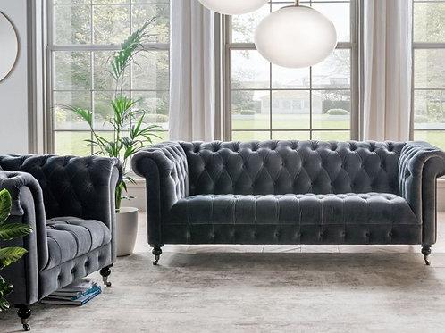 Visage Sofa Sits 2 Grey