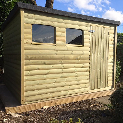 Heavy Duty Pressure Treated Pent Shed