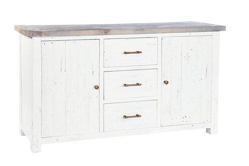 Large Sideboard 3 Drawers 2 Doors