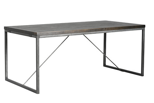 Tatton 1.8 Dining Table - Charcoal