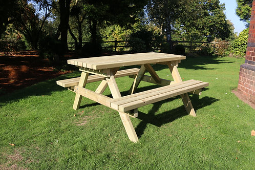 Deluxe Picnic Table 180 cm