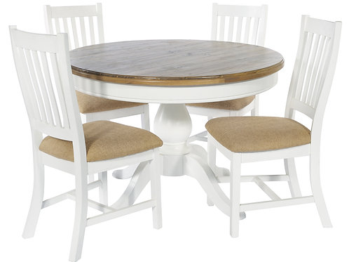 Ludlow Round Table 4 x Chairs