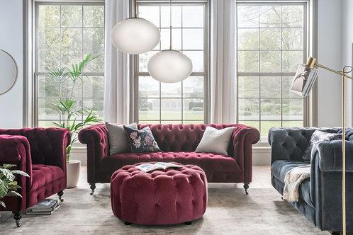 Visage Sofa Sits 2 Berry
