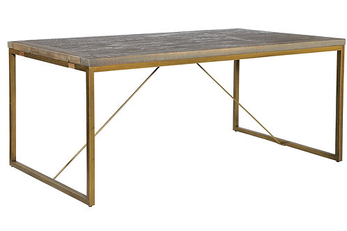 Tatton 1.8 Dining Table - Bronze