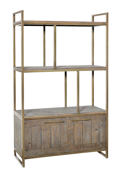 Tatton Bookcase - Bronze