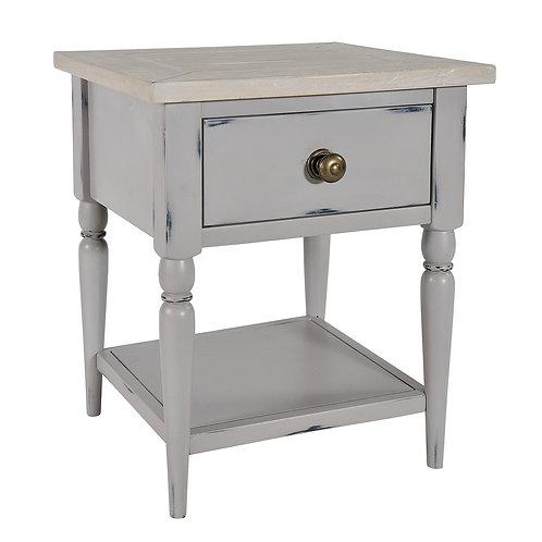 Ella Grey Side Table