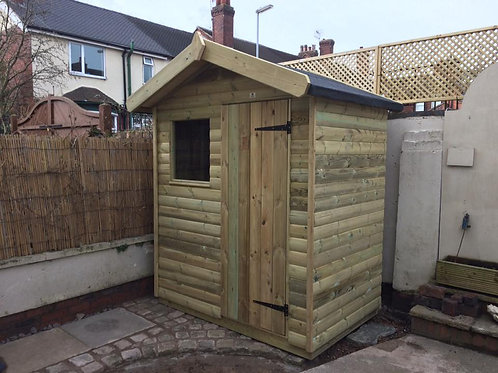 6 FT x 4 FT Pitch Roof Shed