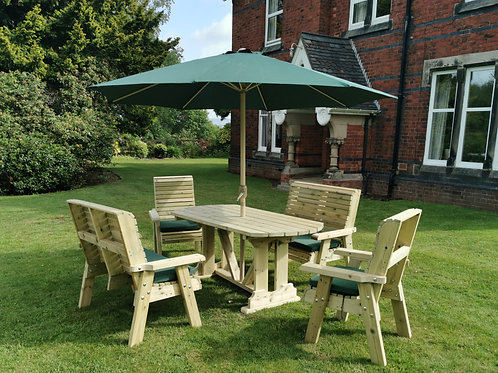 Chatsworth Table Set   Sits 6